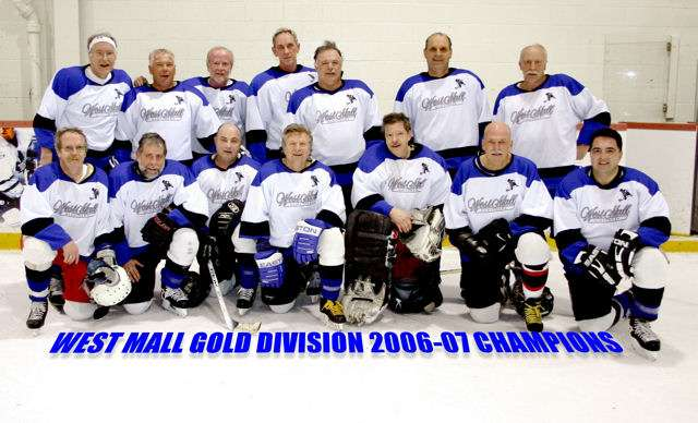 2006 - 2007 Gold Division Champions